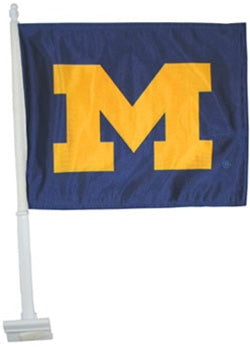 UM Block 'M' Car Flag