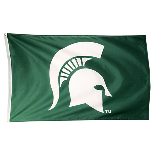 3' x 5' Spartan Head MSU Flag