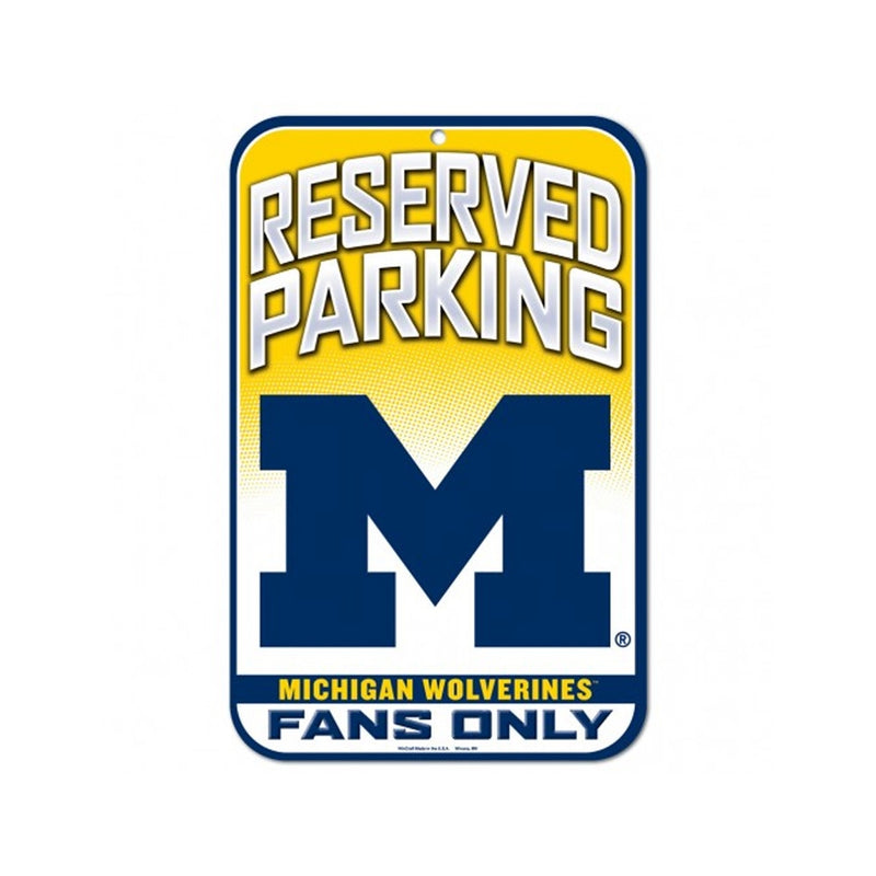 UM Reserved Parking Fan Sign