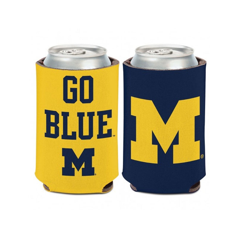 UM Go Blue/ Block M Can Cooler