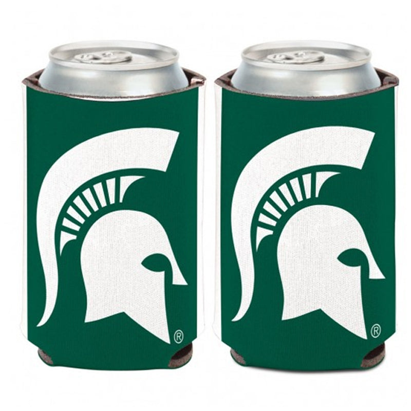 MSU Spartan Head Can Cooler