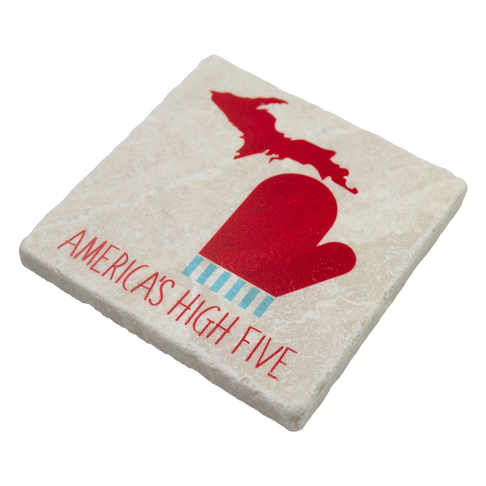 GR8ST8 America High Five Coaster