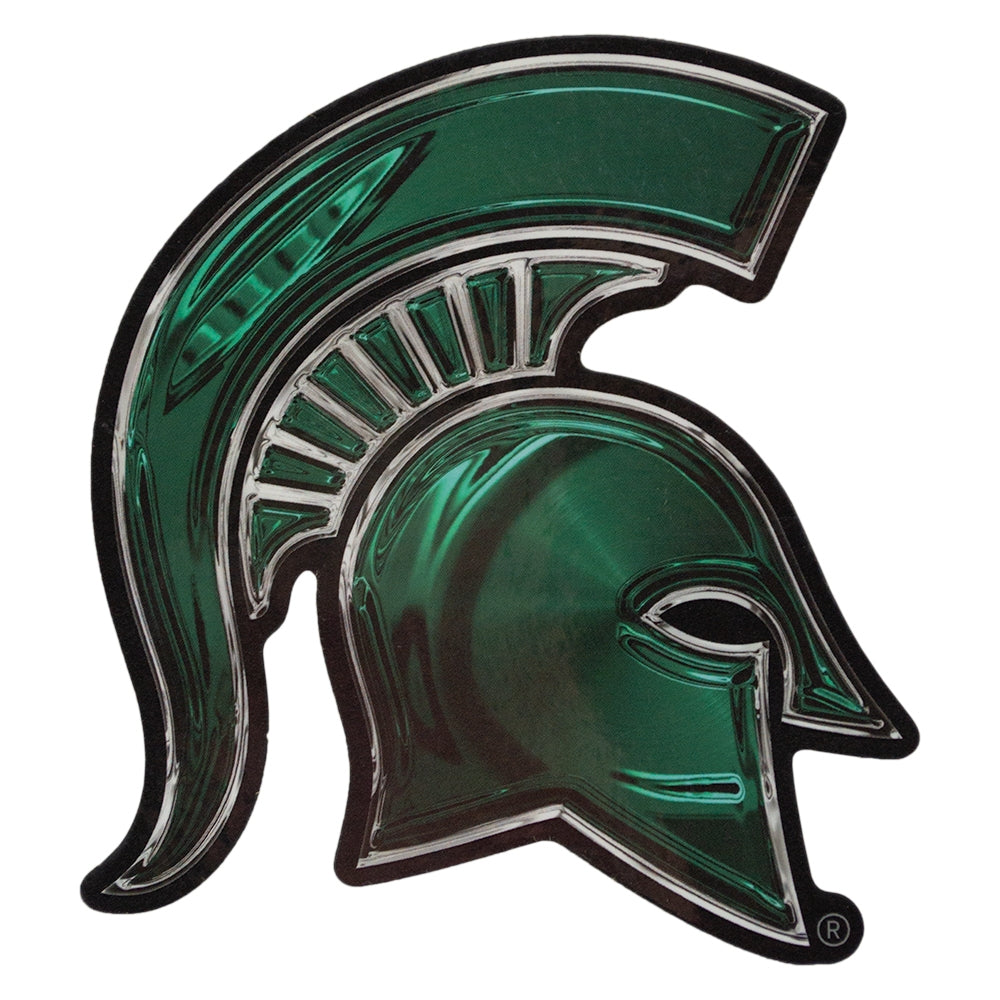 MSU 3D Spartan Head Decal