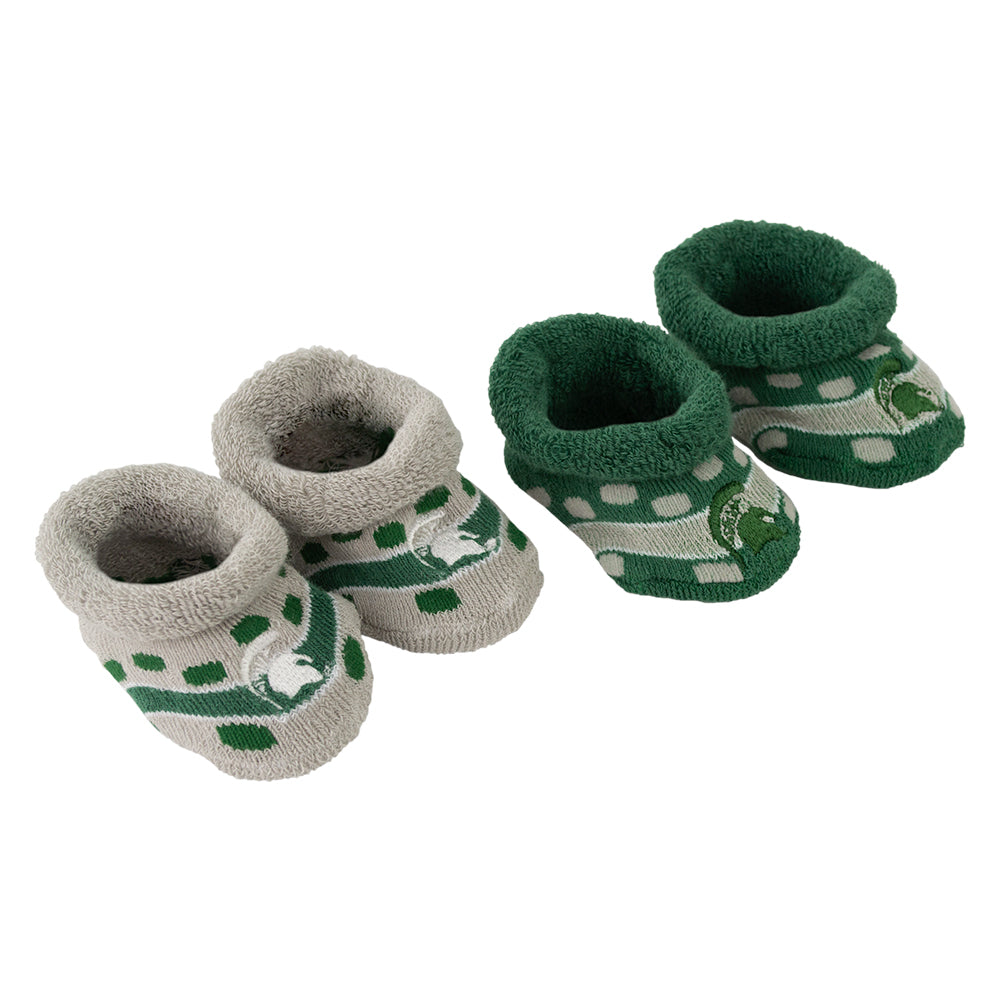 MSU Dot Band Booties