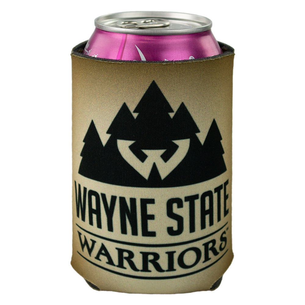 Wayne State Compass Logo Can Cooler