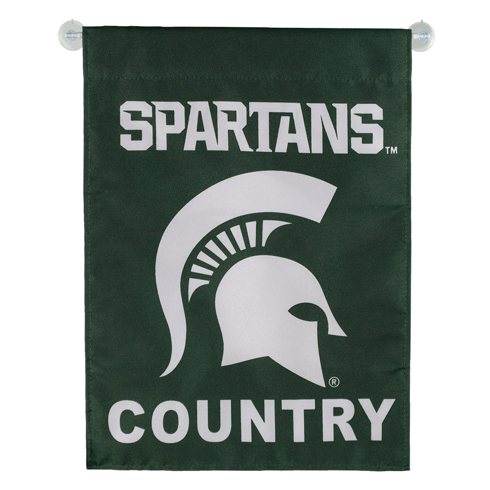 MSU Spartans Country Garden Flag