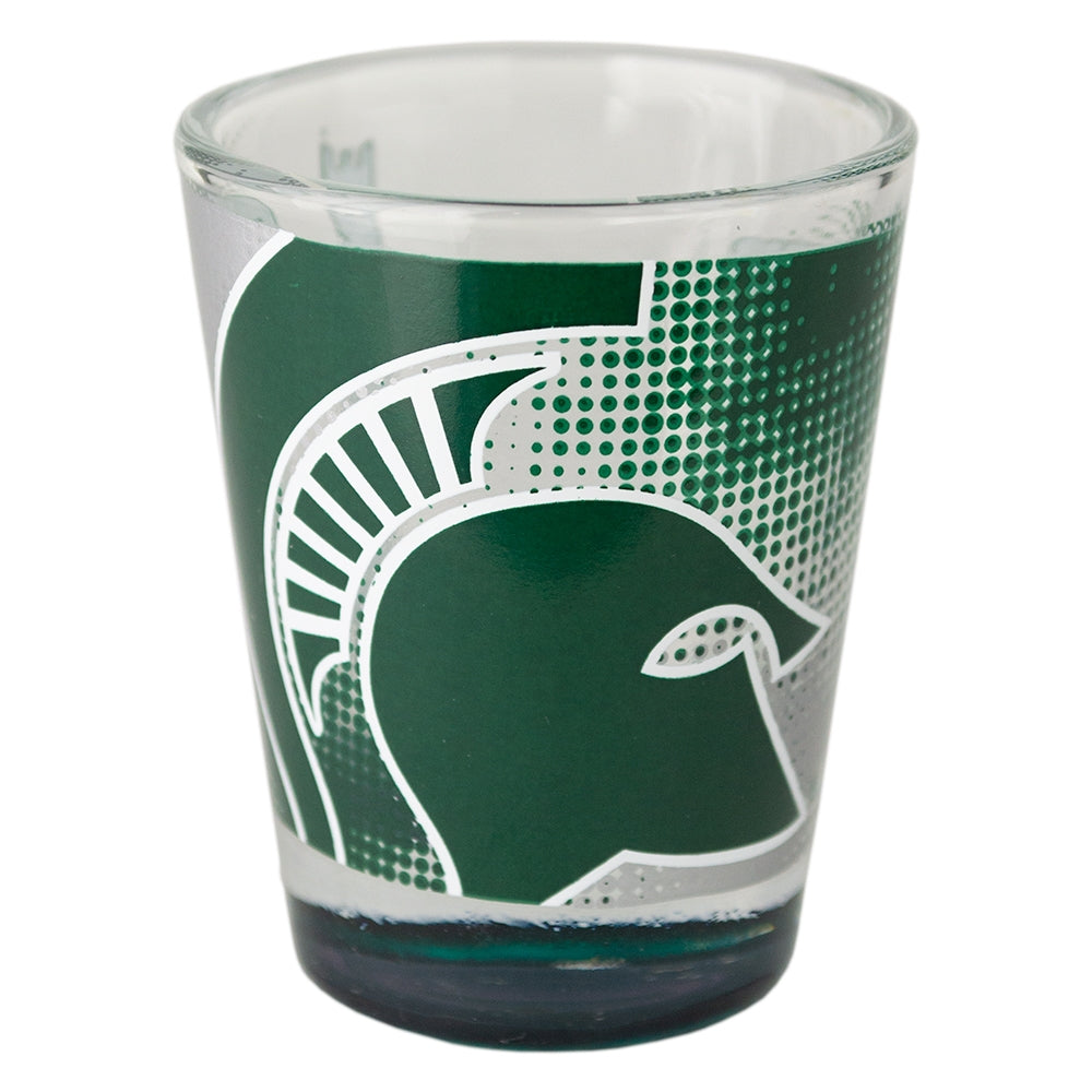 MSU Full Wrap Highlight Shot Glass