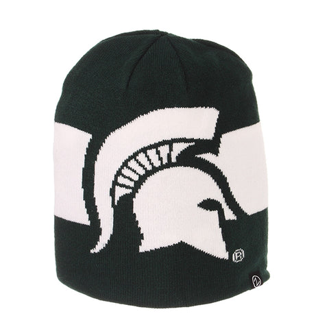 MSU Spartan Head Knit Hat