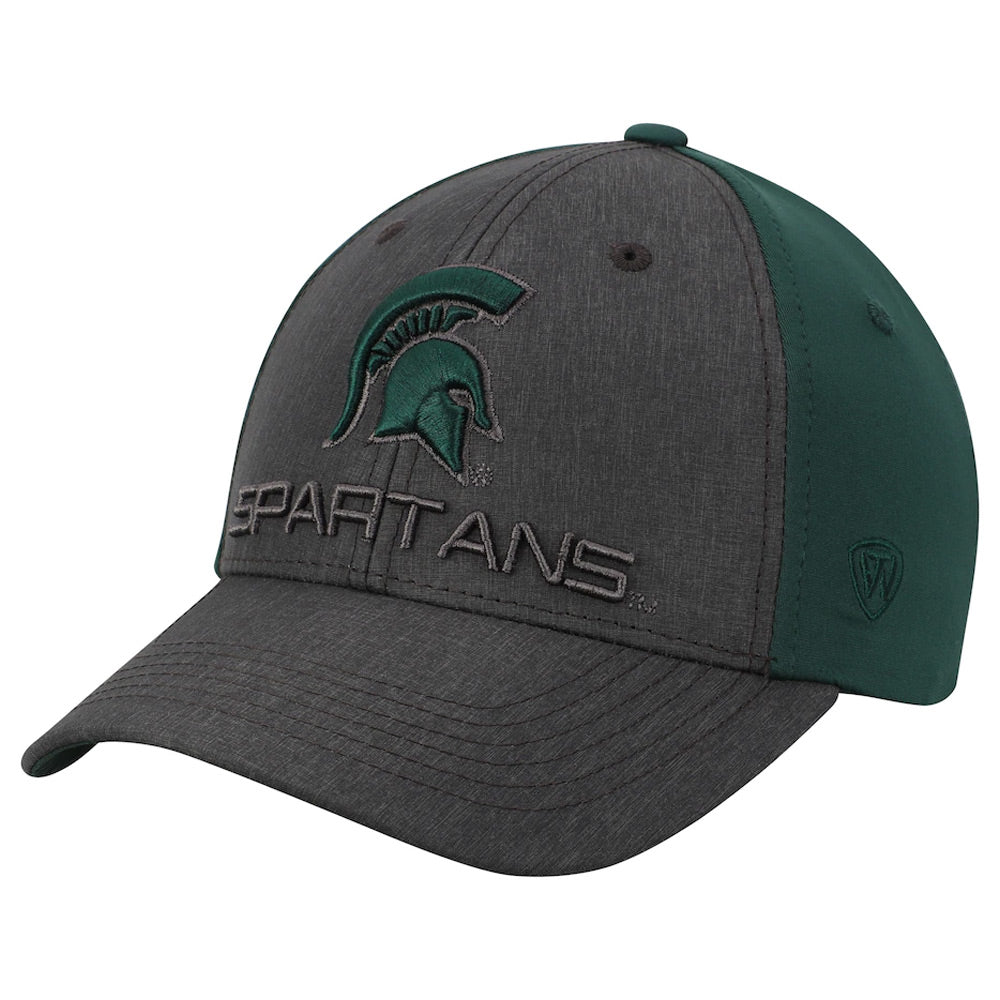 MSU Spartan Head Reach Adjustable Hat