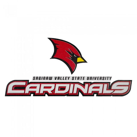 Logo Over Cardinals SVSU Decal