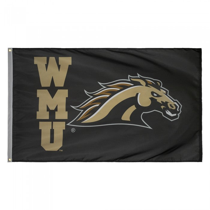 3' x 5' WMU Stacked Flag