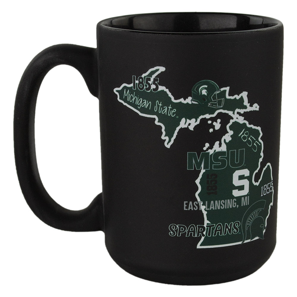 MSU State Of Michigan Phrases Mug