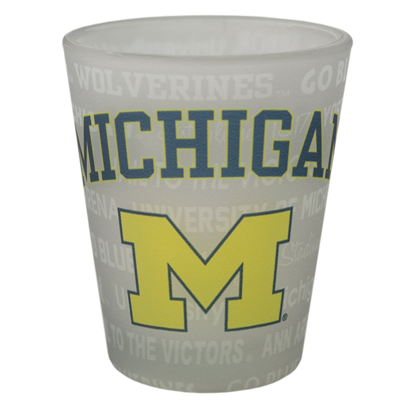 Frosted Sublimation UM Shot Glass