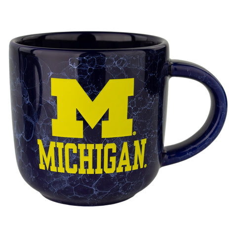 "Mug Marbled ""m"" Over Michigan"