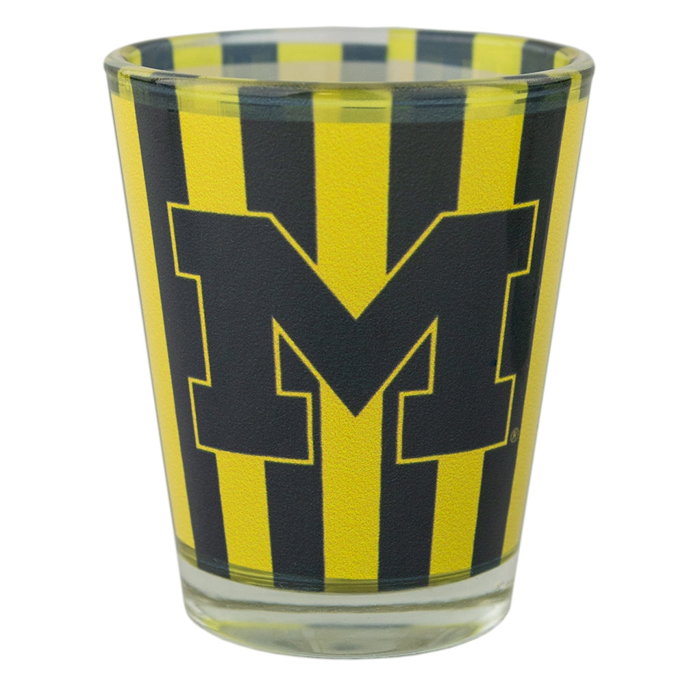 UM Vertical Stripes Shot Glass
