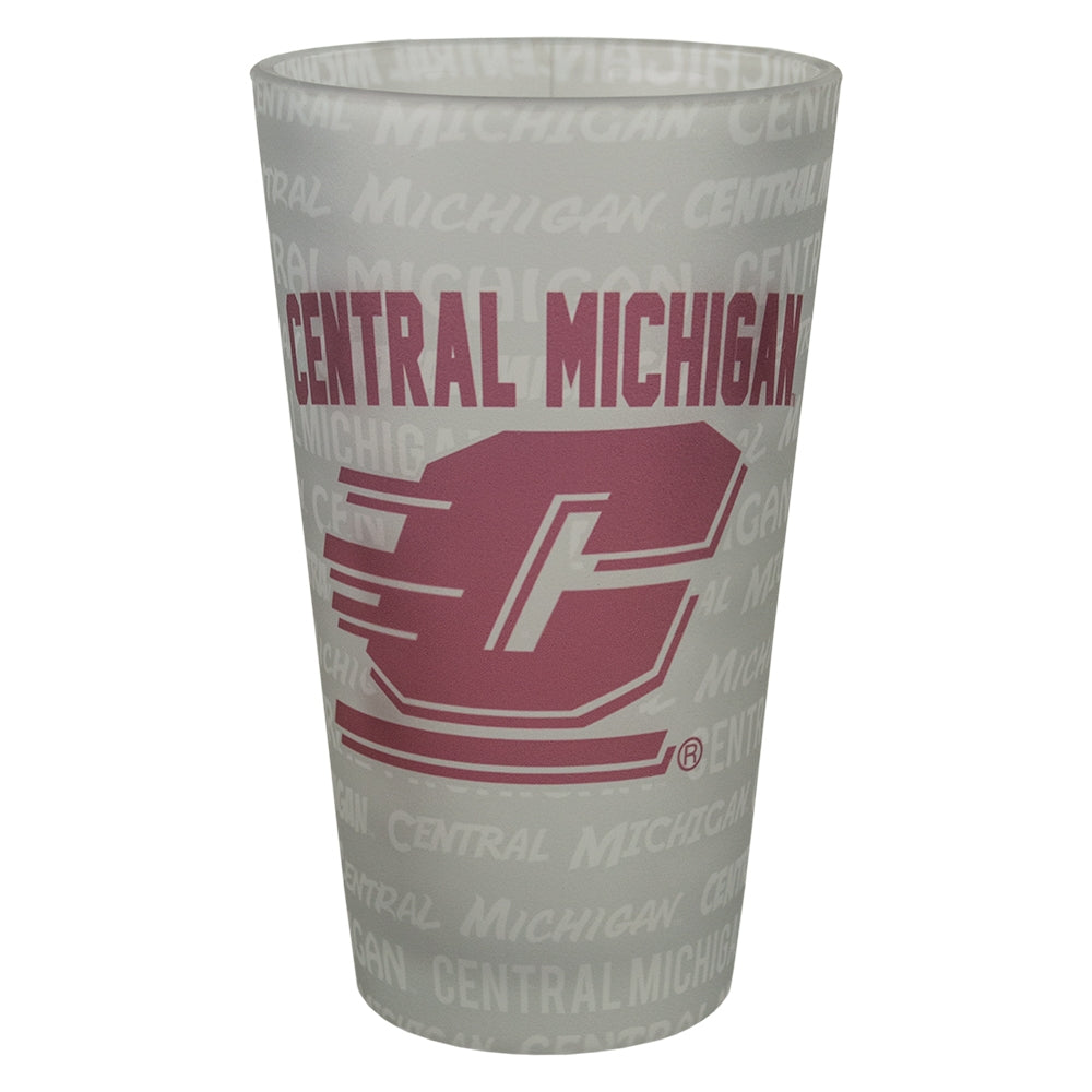 Frosted Sublimation CMU Pint Glass