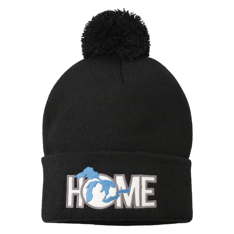GR8ST8 Home Pom knit Hat