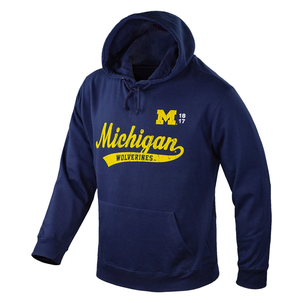 Distressed 1817 Michigan UM MIC-751 Hoodie