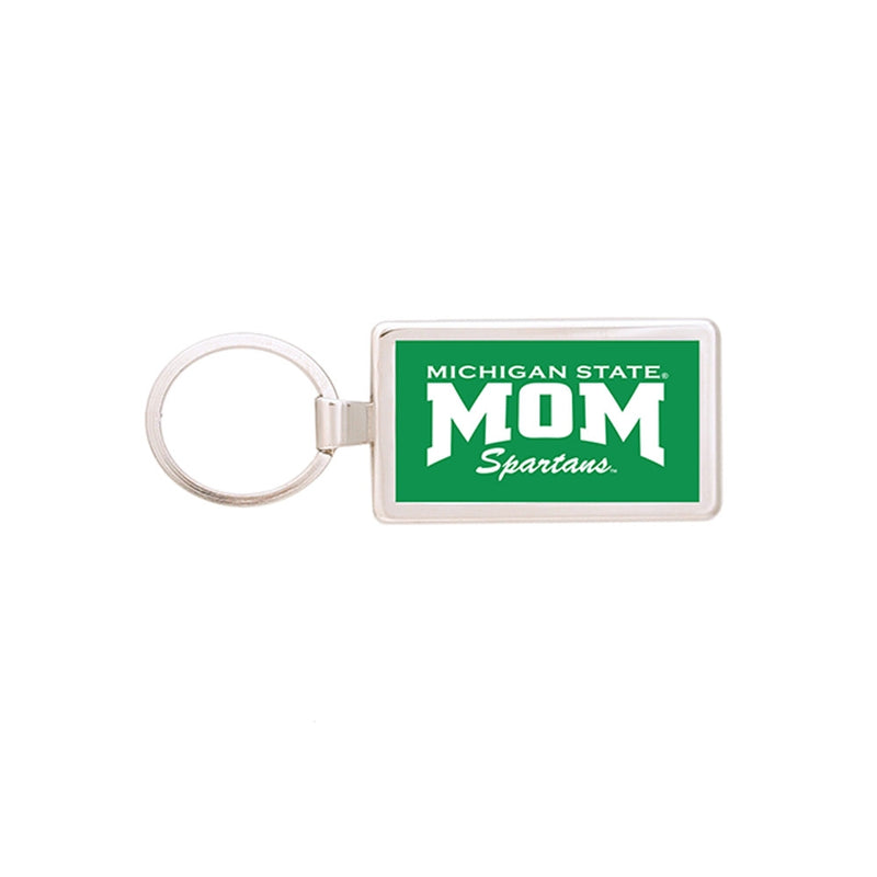 MSU Mom Keychain