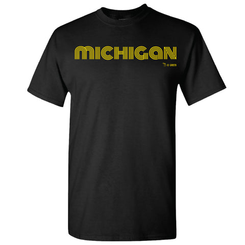 Groovy Michigan GR8ST8 GRMI T-Shirt