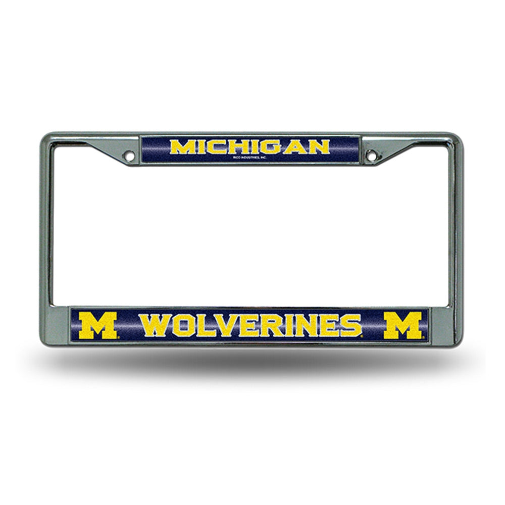 UM Bling License Plate Frame