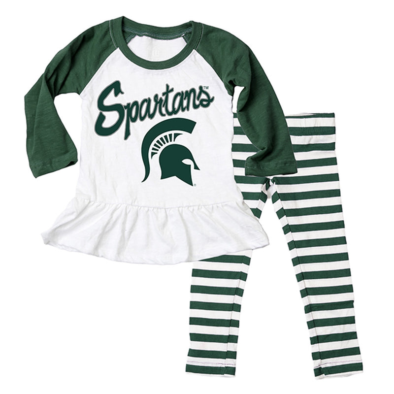 MSU Infant Long Sleeve/ Pant Set