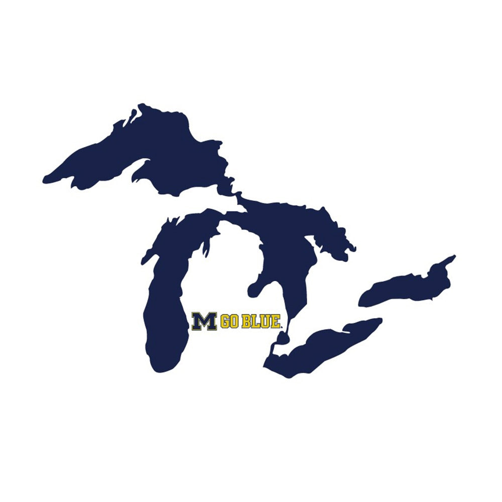 UM Great Lakes Go Blue Decal