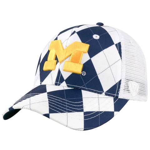 UM Argyle Adjustable Hat
