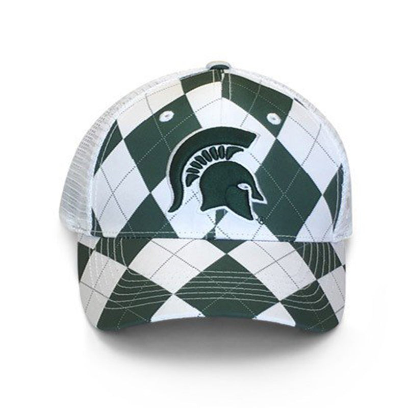 MSU Argyle Adjustable Hat