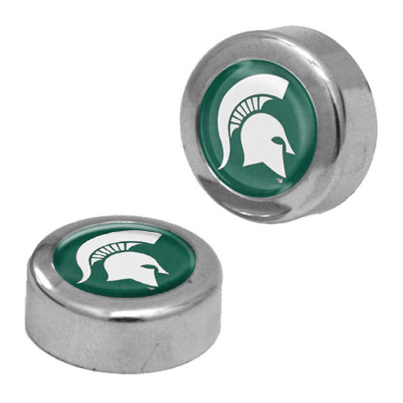 MSU License Plate Screw Caps