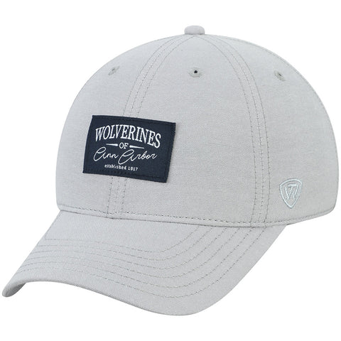 UM Woverine Patch Adjustable Hat