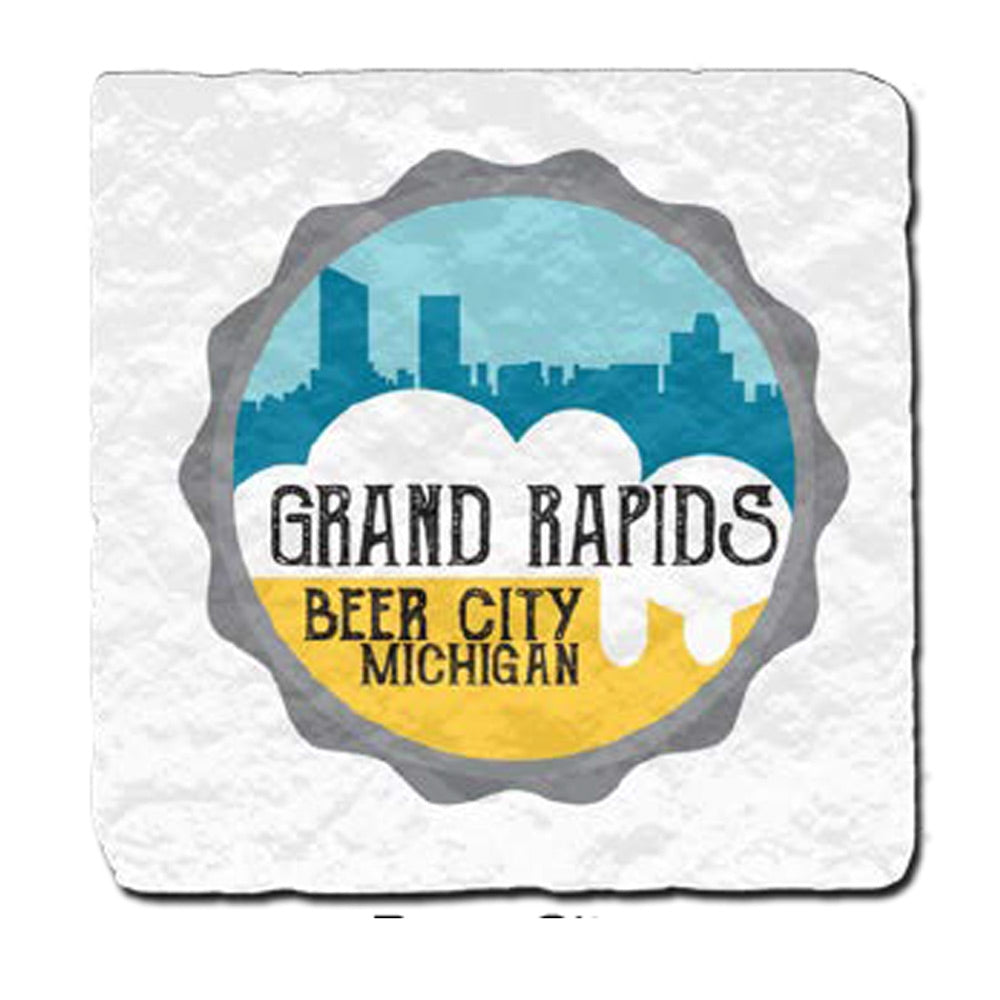 GR8ST8 Grand Rapids  Beer City Coaster