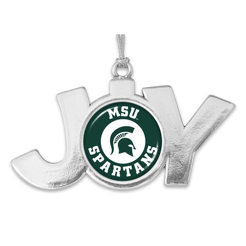 MSU Joy Circle Logo Ornament
