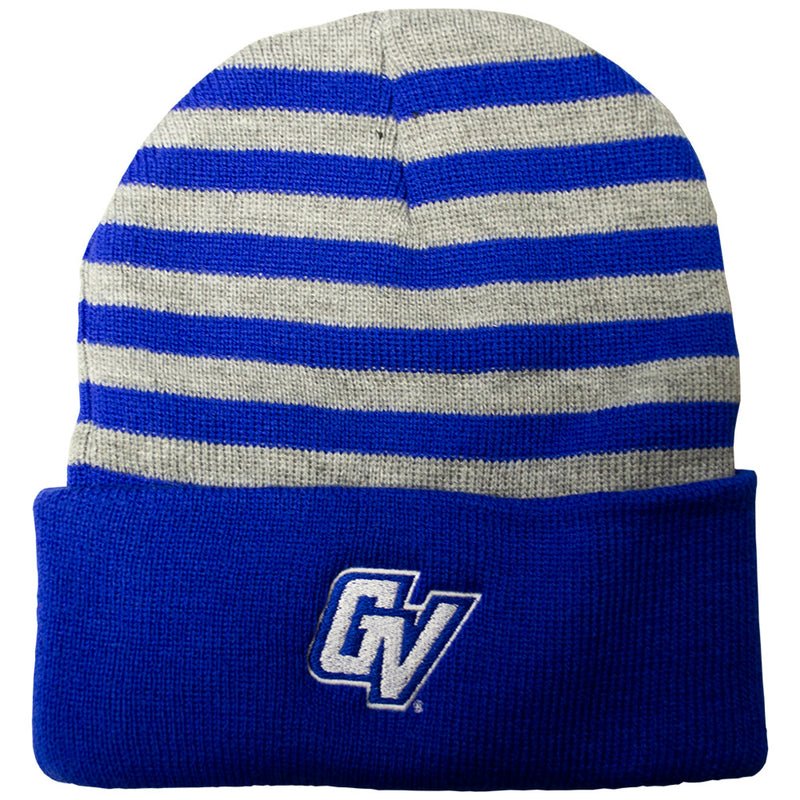 GVSU Striped Cuff Beanie