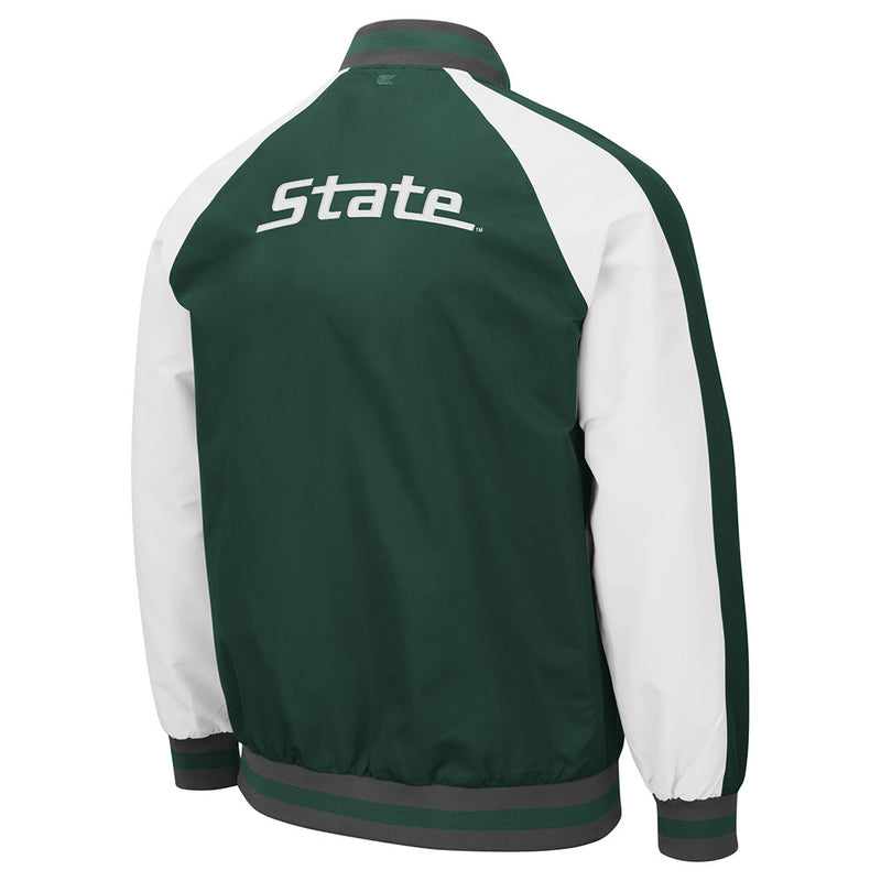 Full-Zip Bomber MSU Jacket