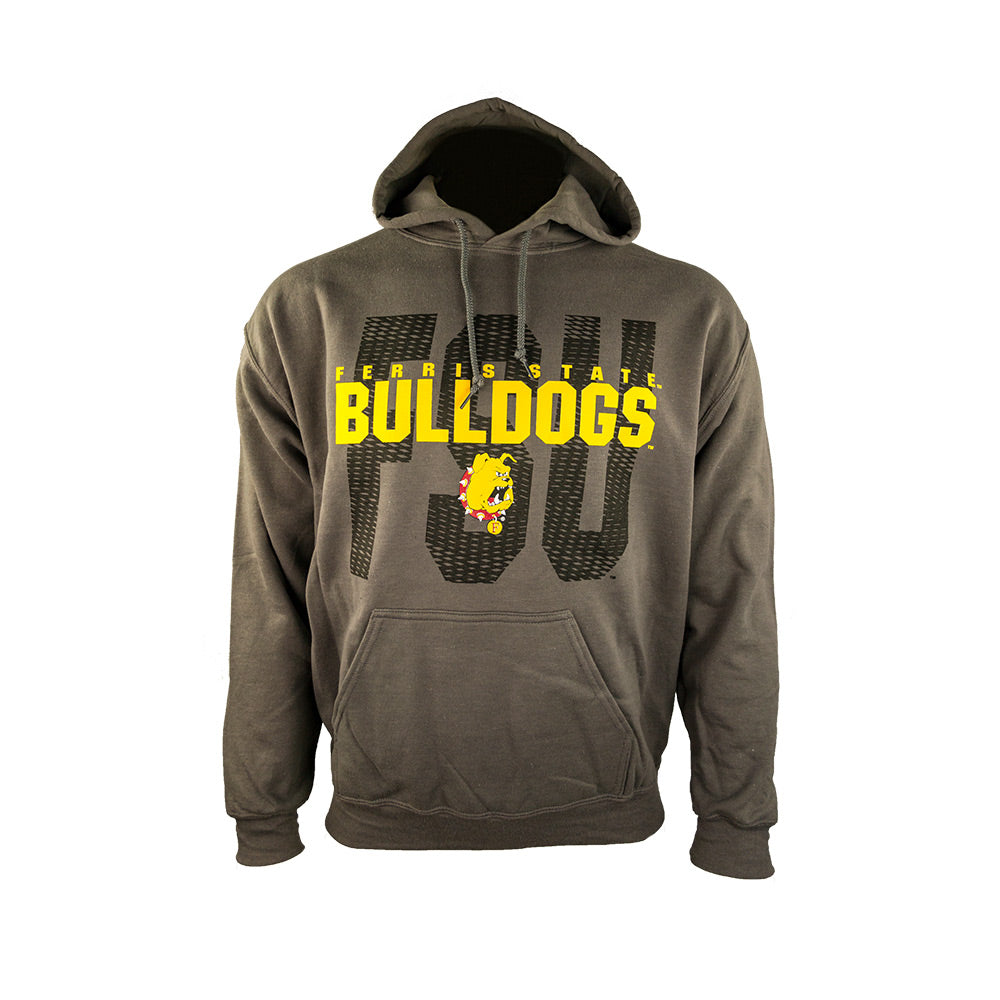 Block Cut Out Ferris State TXLB Hoodie