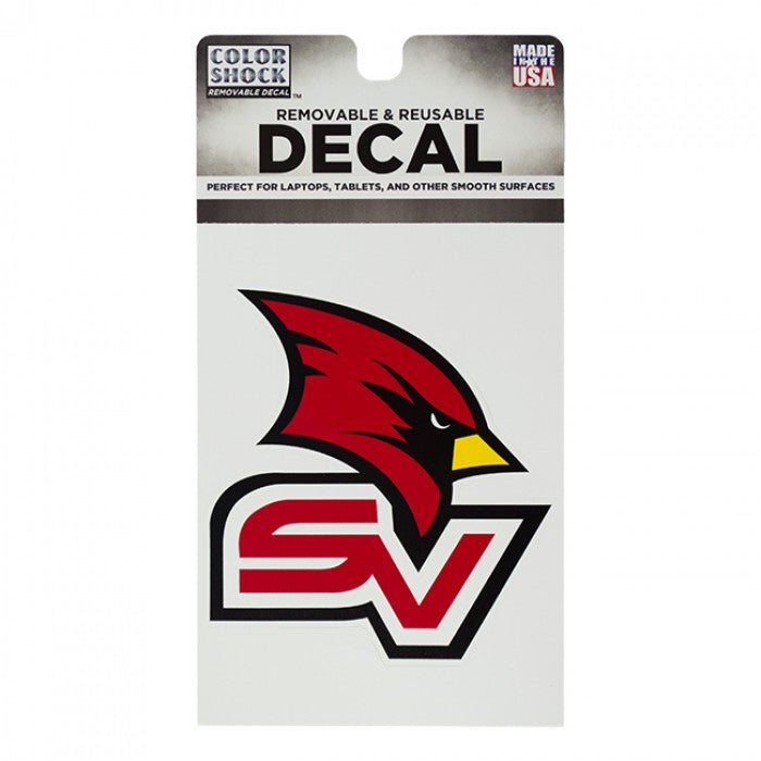 Removable SVSU Decal