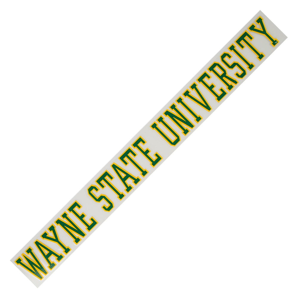 Wayne State Strip Decal