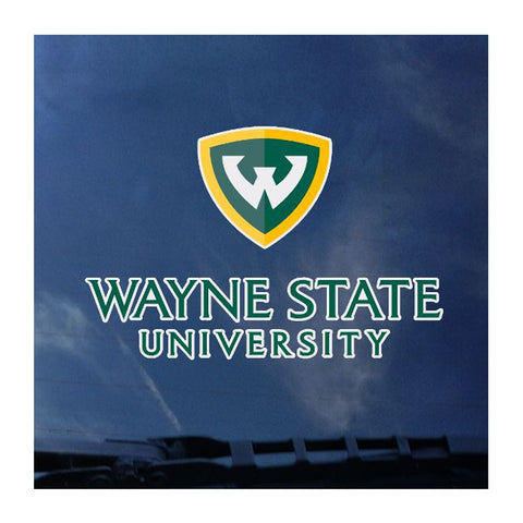 Wayne State Decal