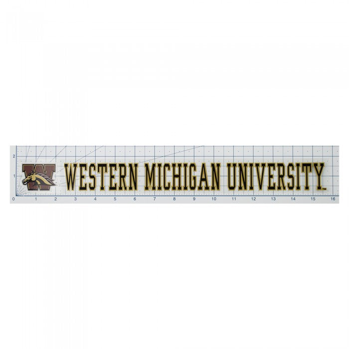 WMU Strip Decal