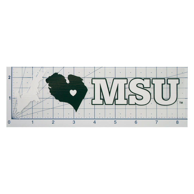 I Heart MSU Decal