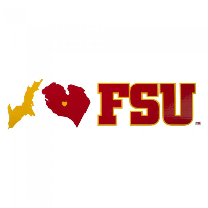 Ferris State State Design Decal