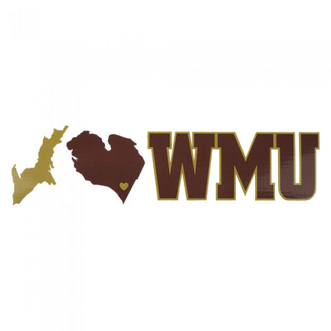 WMU State Design Decal