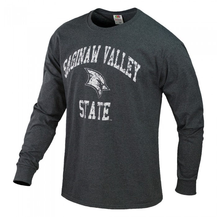 Weathered Arched Logo SVSU ASW Long Sleeve T-Shirt