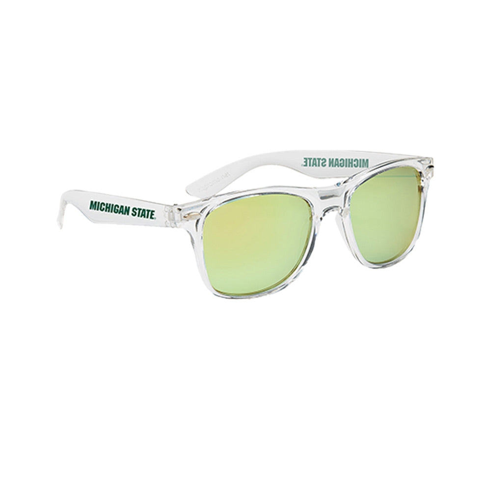 MSU Crystaline Mirrored Sunglasses