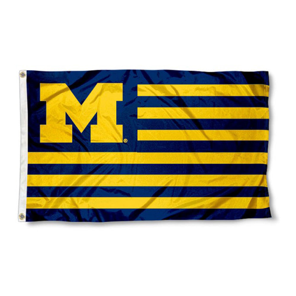 3' x 5' Striped UM Flag