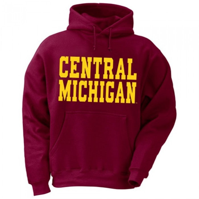 Disrupter ProSphere Central Michigan University Mens Long Sleeve Hooded Tee