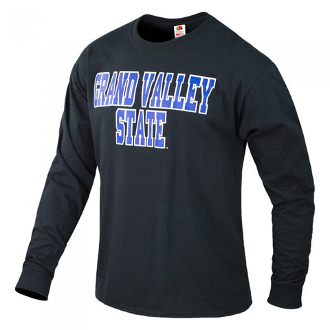 Blocky 2 Color GVSU B2T Long Sleeve T-Shirt