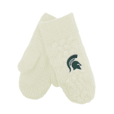 MSU Ladies Arya Cable Mittens