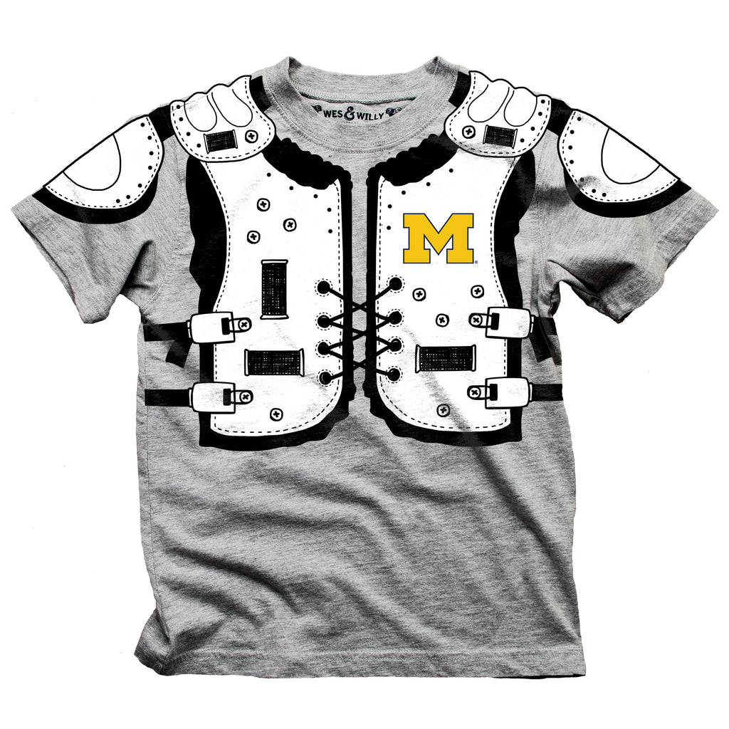 Football Shoulder Pads UM Toddlar T-Shirt